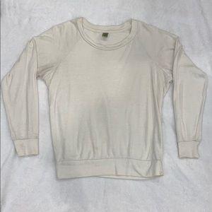 Lightweight Pullover Jersey Sweatshirt